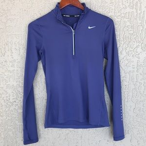 Nike long sleeve, purple running shirt. Size XS.